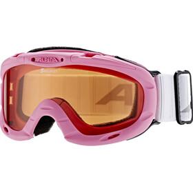 Alpina Ruby S Singleflex Hicon S1 Goggles Children pink/white